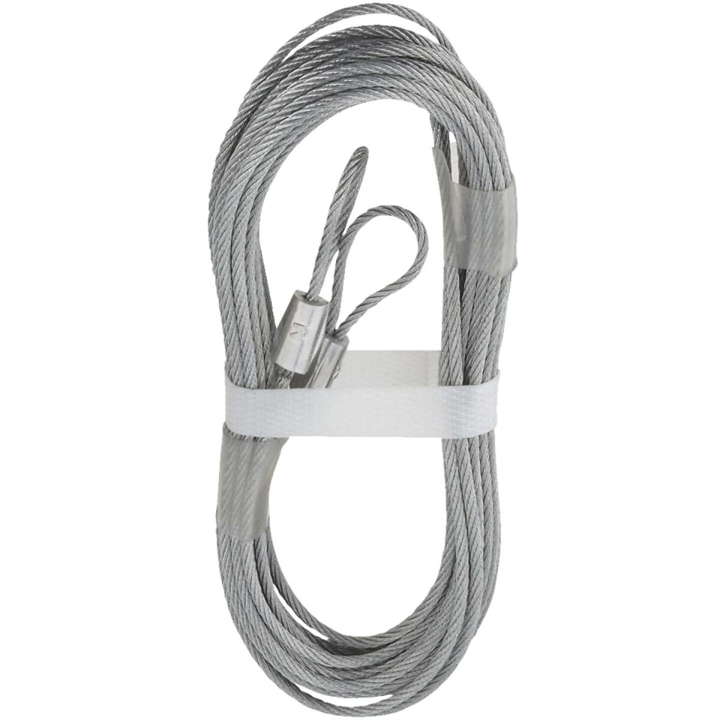 National 3-32 In. Dia. x 12 Ft. L. Garage Door Extension Spring Lift Cable (2 Count) Image 1