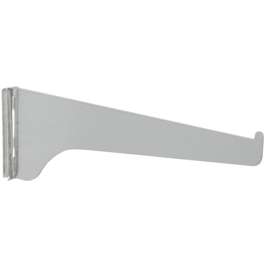 Knape & Vogt 180 Series 18 In. Anochrome Steel Regular-Duty Single-Slot Shelf Bracket