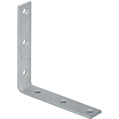 National Catalog 115 6 In. x 1-1/8 In. Galvanized Corner Brace