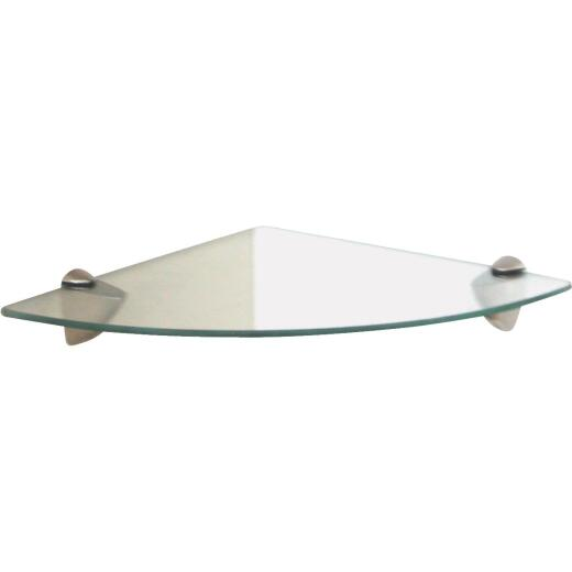 Knape & Vogt Shelf-Made Corner Glass Shelf