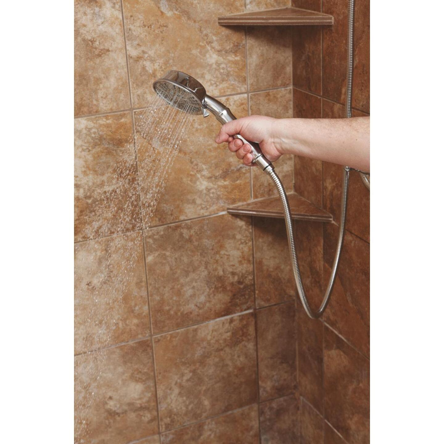 Home Impressions 5-Spray 1.75 GPM Combo Hand-Held Shower & Showerhead, Chrome Image 4