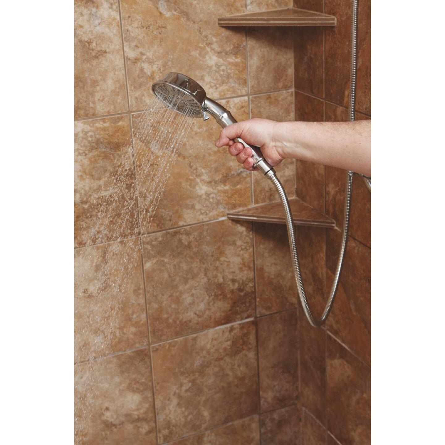 Home Impressions 5-Spray 1.75 GPM Combo Hand-Held Shower & Showerhead, Chrome Image 5