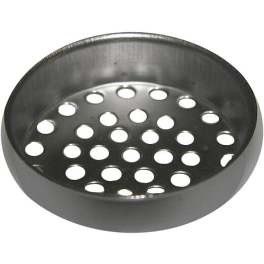 Lasco 1-1/2 In. Chrome Removable Laundry Tray Strainer Cup