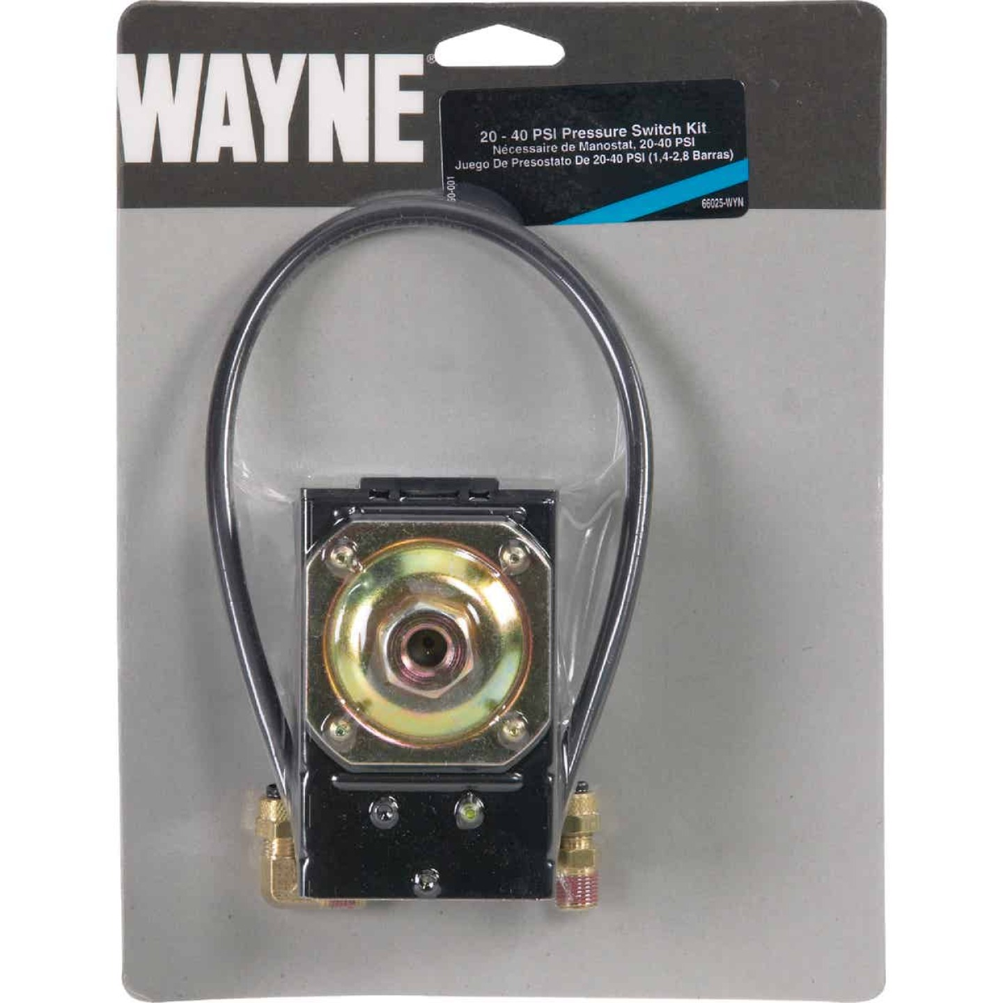 Wayne 20 - 40 psi  3/16 In. OD Tube Connection Pressure Switch Image 2
