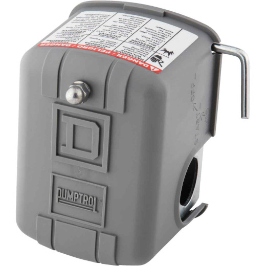 Square D Pumptrol 30 - 50 psi  Actuated Pressure Switch