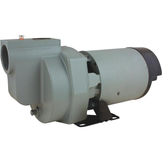 Star Water Systems 1-1/2 HP 115/230V 4020 GPH Self-Priming Lawn Irrigation Portable Pump
