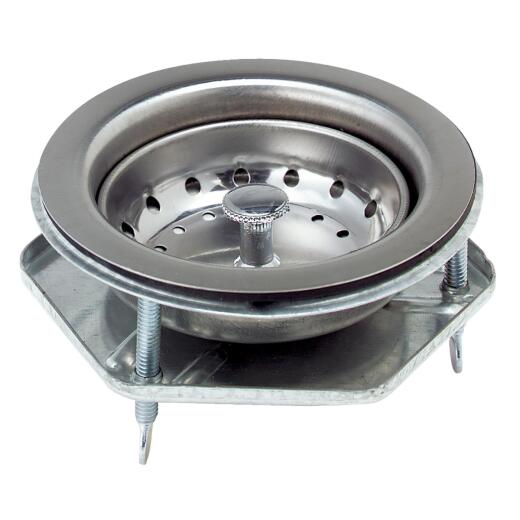 Do it Stainless Steel Thumb Screw Style Basket Strainer Assembly