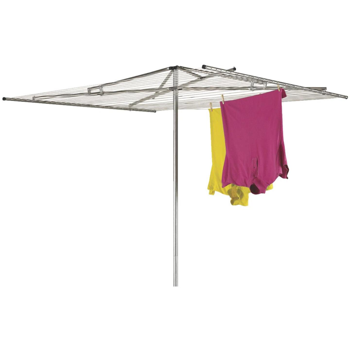 Household Essentials Sunline 72 In. x 72 In. 210 Ft. Drying Area Umbrella Style Clothes Dryer Image 1