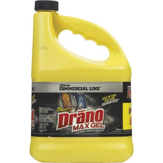 Drano 1 Gal. Commercial Line Max Gel Clog Remover