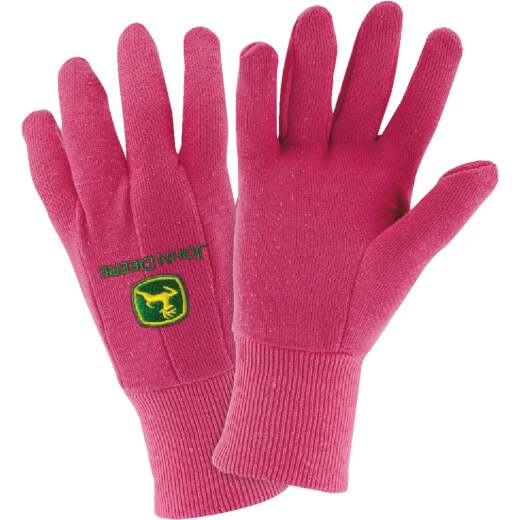 West Chester John Deere Women's 1 Size Fits All Fleece Lined Jersey Winter Glove