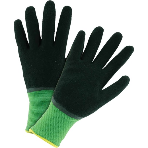West Chester John Deere Men's Large Latex-Dipped Knit Winter Glove