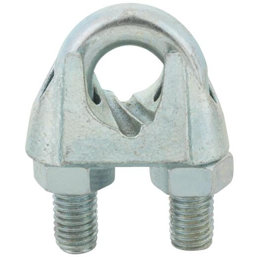 Campbell 3/4 In. Galvanized Iron Cable Clip