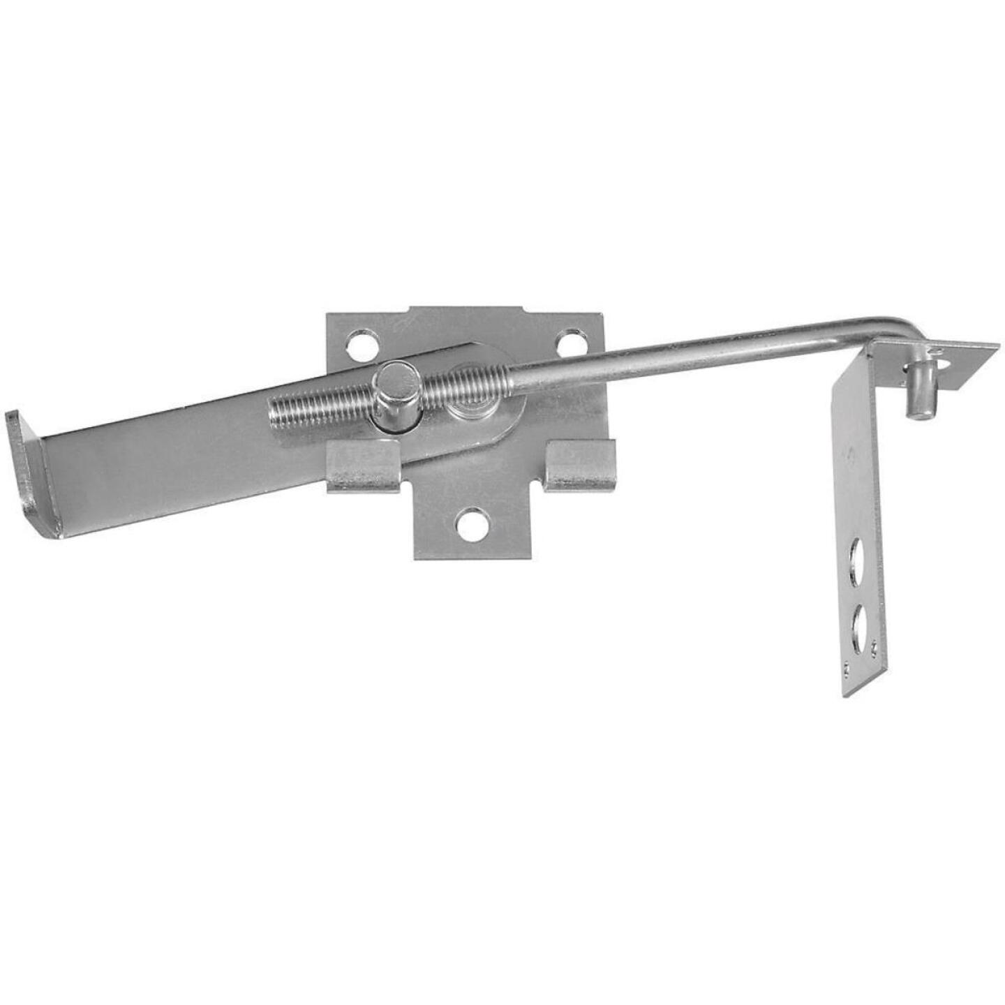 National Zinc-Plated 7 In. Steel Barn Door Latch Image 1
