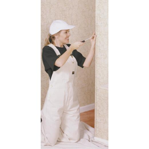 Wallprotex 1-1/8 In. x 8 Ft. Clear Nail On Corner Guard